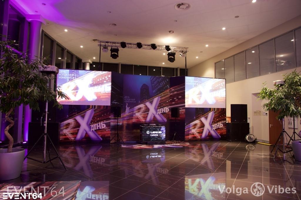 Презентация нового Lexus RX в Саратове