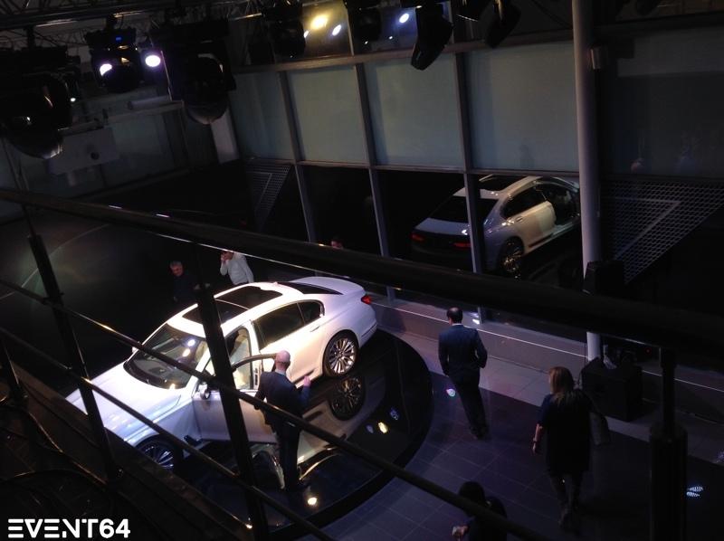 Презентация нового BMW 7 в Саратове.