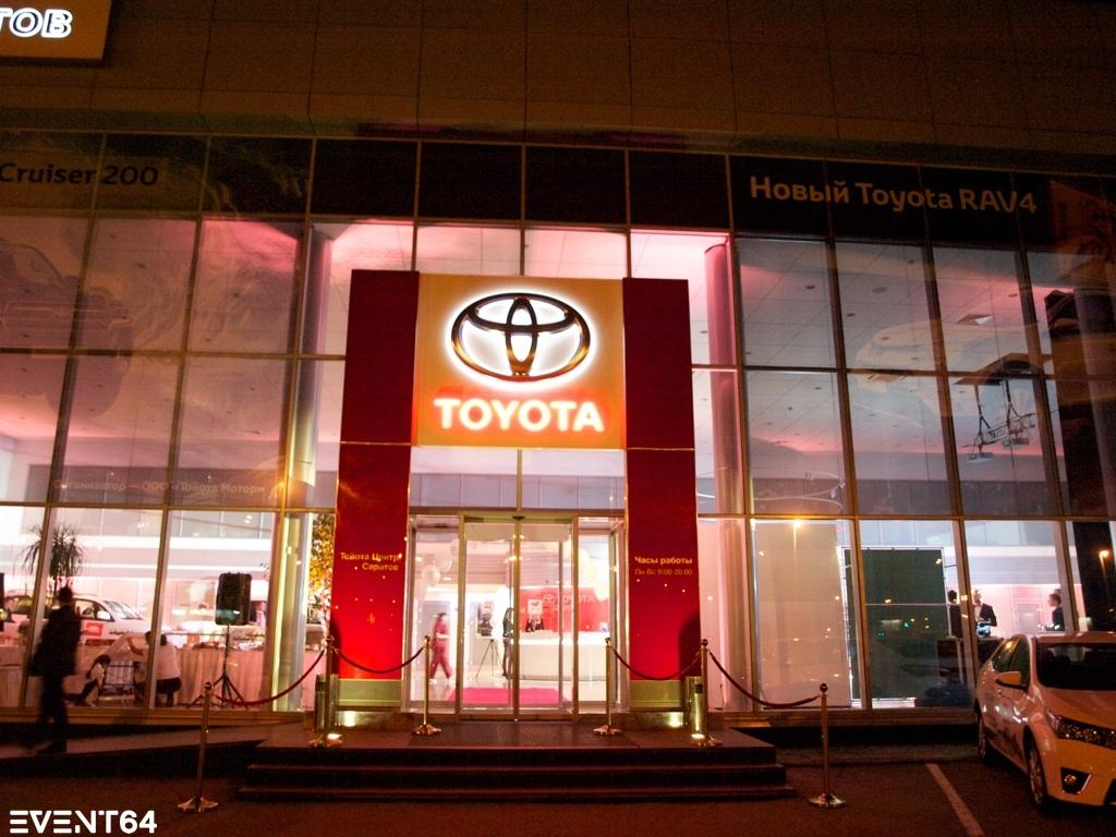 Презентация нового Toyota Land Cruiser 200