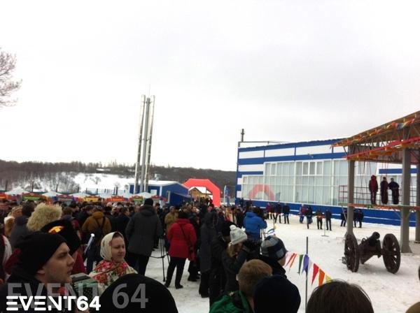 Открытие спортивного комплекса «Воздушный городок СГЮА»