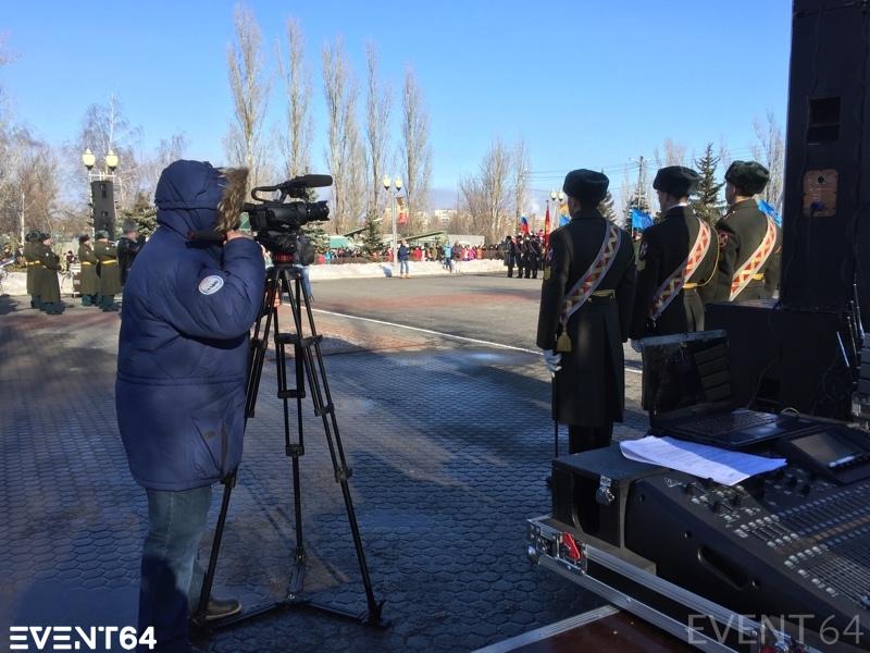 Торжественное открытие кафедры военной подготовки в СГЮА