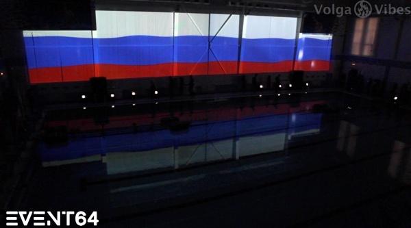 Открытие бассейна СГЮА.