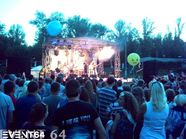 День Строителя в г.Вольск - группа «Танцы Минус»