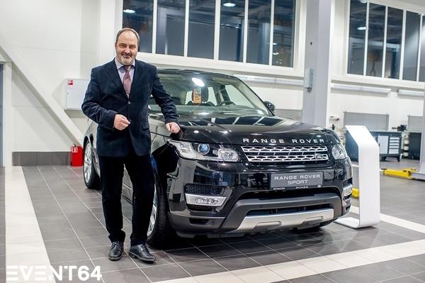 Открытие нового дилерского центра Jaguar Land Rover в Пензе. Презентация Land Rover Discovery Sport.