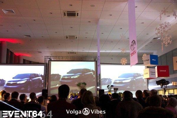 Презентация нового Toyota Highlander в Саратове.