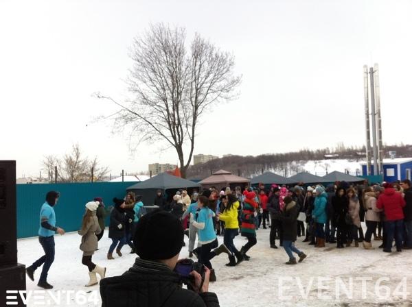 Встреча Масленицы со студентами СГЮА.
