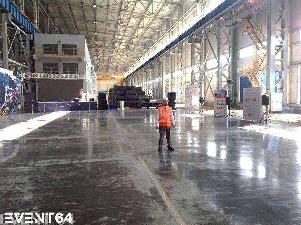 Открытие завода компании «Северсталь» в Балаково.