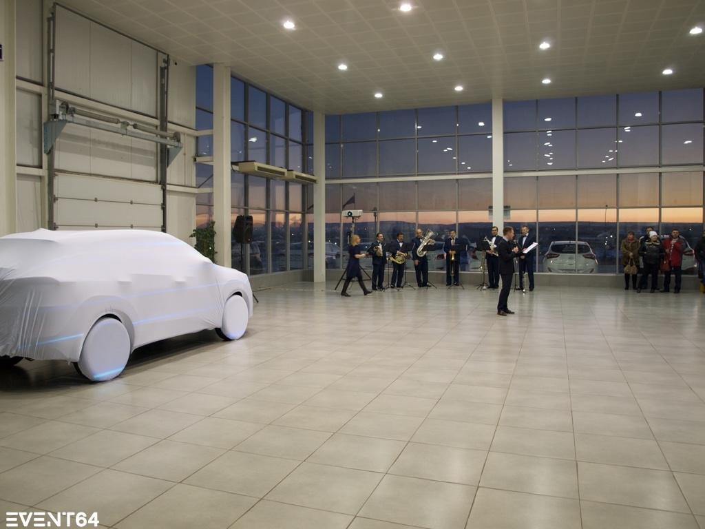Презентация нового Hyundai Tucson в Саратове.