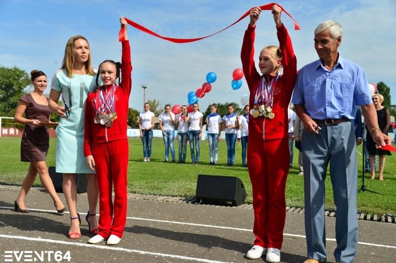 Открытие обновленного стадиона «Олимп» в Балашове.